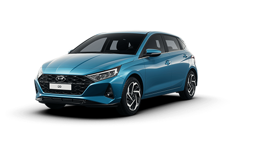 Hyundai I20 - Available In Aqua Turquoise