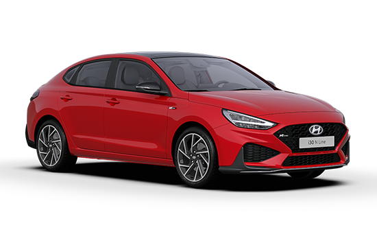 Hyundai I30 Fastback - Available In Engine Red