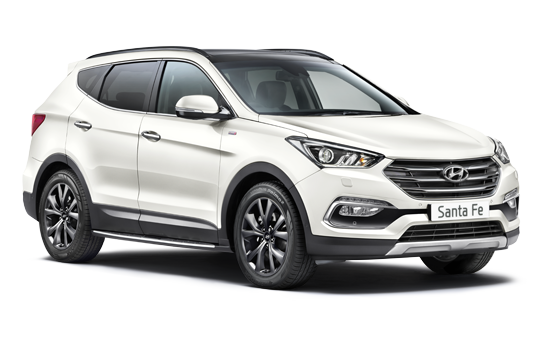 Hyundai Santa Fe - Available In Creamy White
