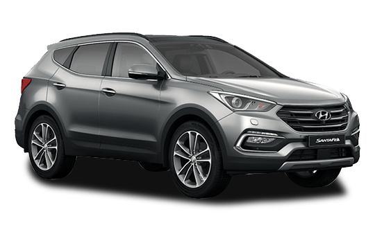 Hyundai Santa Fe - Available In Titanium Silver