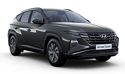 Hyundai Tucson - Available In Amazon Grey