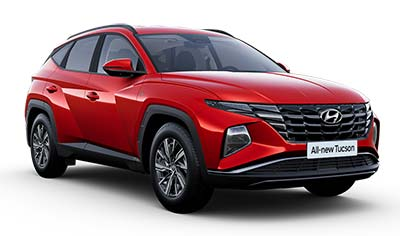 Hyundai Tucson - Available In Engine Red