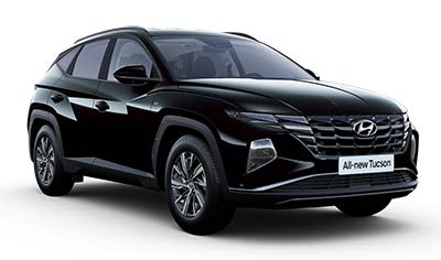 Hyundai Tucson - Available In Phantom Black