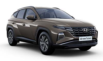 Hyundai Tucson - Available In Silky Bronze